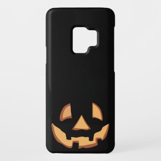 Pumpkin Face 1 Case-Mate Samsung Galaxy S9 Case