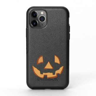 Pumpkin Face 1 OtterBox Symmetry iPhone 11 Pro Case