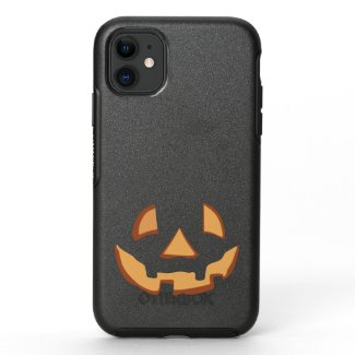 Pumpkin Face 1 OtterBox Symmetry iPhone 11 Case
