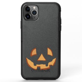 Pumpkin Face 1 OtterBox Symmetry iPhone 11 Pro Max Case