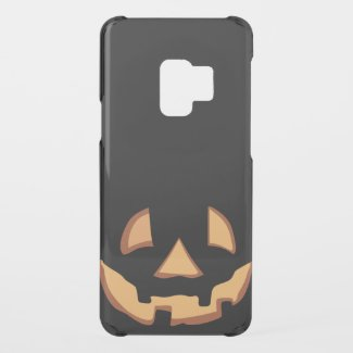 Pumpkin Face 1 Uncommon Samsung Galaxy S9 Case