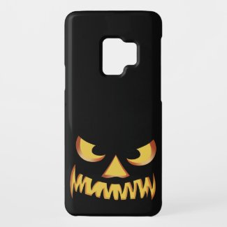 Pumpkin Face 2 Case-Mate Samsung Galaxy S9 Case