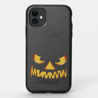 Pumpkin Face 2 OtterBox Symmetry iPhone 11 Case