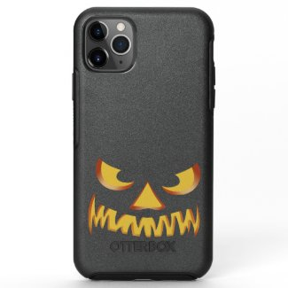 Pumpkin Face 2 OtterBox Symmetry iPhone 11 Pro Max Case