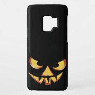 Pumpkin Face 3 Case-Mate Samsung Galaxy S9 Case