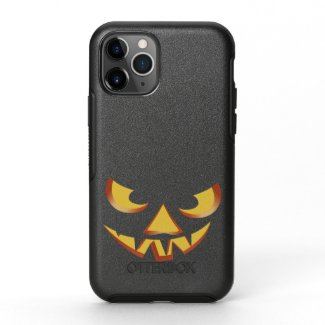Pumpkin Face 3 OtterBox Symmetry iPhone 11 Pro Case