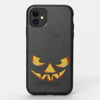 Pumpkin Face 3 OtterBox Symmetry iPhone 11 Case