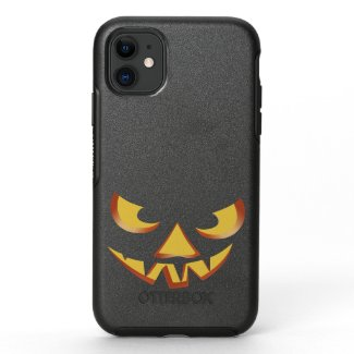 Pumpkin Face 3 OtterBox Symmetry iPhone 11 Case
