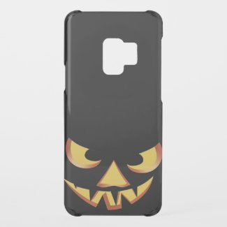 Pumpkin Face 3 Uncommon Samsung Galaxy S9 Case