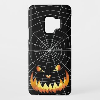 Pumpkin Face 4 Case-Mate Samsung Galaxy S9 Case