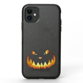 Pumpkin Face 4 OtterBox Symmetry iPhone 11 Case