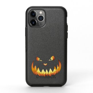 Pumpkin Face 4 OtterBox Symmetry iPhone 11 Pro Case