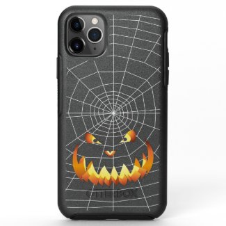 Pumpkin Face 4 OtterBox Symmetry iPhone 11 Pro Max Case