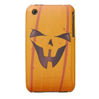 Pumpkin Face iPhone 3 Cover
