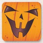Pumpkin Face Coaster