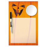 Pumpkin Face Dry-Erase Boards