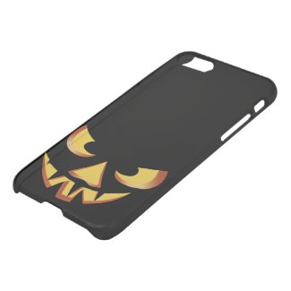 Pumpkin face for Halloween iPhone 7 Deflector Case