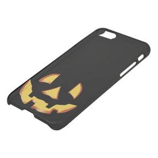 Pumpkin face for Halloween iPhone 7 Deflector Case