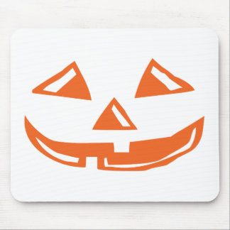 Pumpkin Face - Happy Halloween Mouse Pad