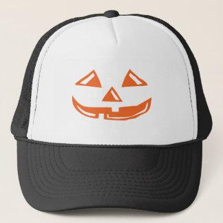 Pumpkin Face - Happy Halloween Trucker Hat