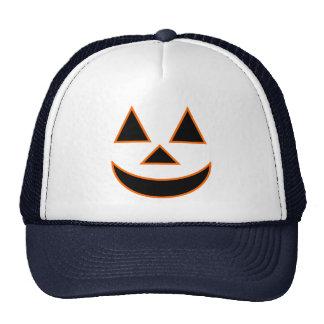 Pumpkin Face Holiday Design You Can Customize Mesh Hat