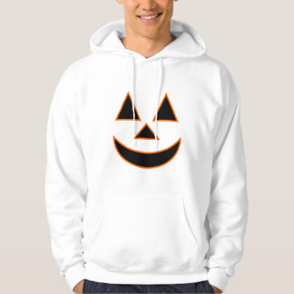 Pumpkin Face Holiday Design You Can Customize Hoodie