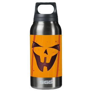 Pumpkin Face Insulated Water Bottle