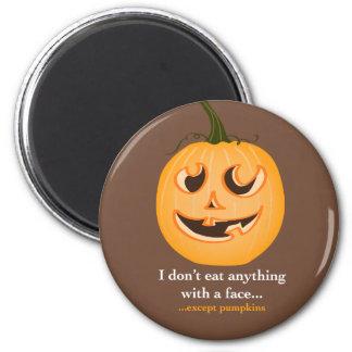 Pumpkin Face - Magnet