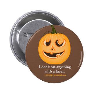Pumpkin Face - Pin