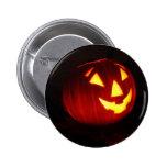 pumpkin face pinback buttons