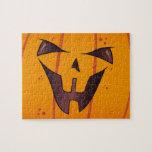 Pumpkin Face Puzzle