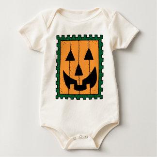 Pumpkin Face Stamp Design Creeper
