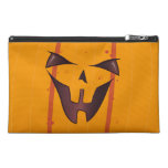 Pumpkin Face Travel Accessory Bags