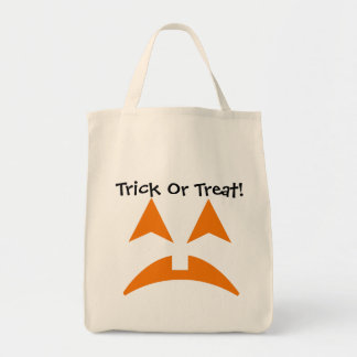 Pumpkin Faces Trick Or Treat Bag 3
