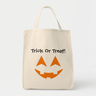 Pumpkin Faces Trick Or Treat Bag 5
