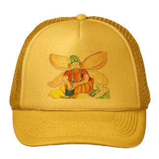 Pumpkin Fairy - Watercolor Pencil Trucker Hat