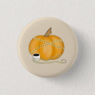 Pumpkin Fall Theme Button