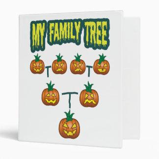 Pumpkin Family Tree Binders