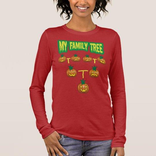 Pumpkin Family Tree Long Sleeve T-Shirt