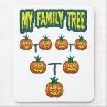 Pumpkin Family Tree Mouse Pad