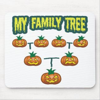 Pumpkin Family Tree Mousepad