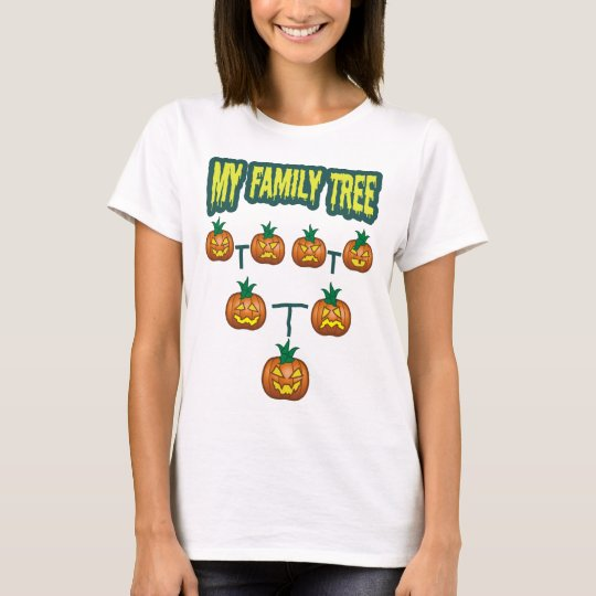 Pumpkin Family Tree T-Shirt