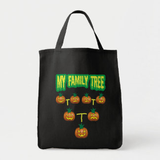 Pumpkin Family Tree Tote Bag