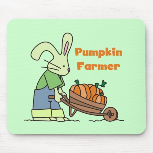 Pumpkin Farmer T-shirts and Gifts Mouse Pad