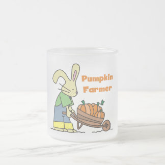 Pumpkin Farmer T-shirts and Gifts 10 Oz Frosted Glass Coffee Mug