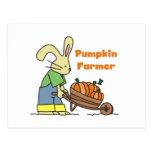 Pumpkin Farmer T-shirts and Gifts Postcard
