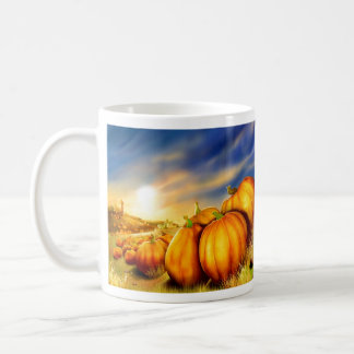 Pumpkin Field Coffee Mug
