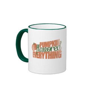 Pumpkin Flavored everything!!! Ringer Coffee Mug