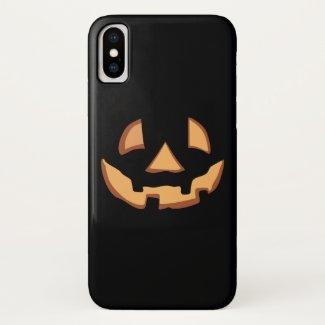 Pumpkin for Halloween 1... iPhone X Case