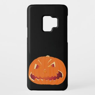 Pumpkin for Halloween 3 Case-Mate Samsung Galaxy S9 Case